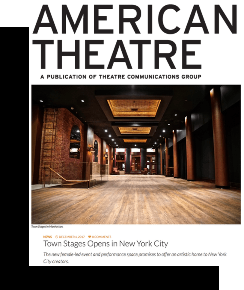 American Theater Wing | Town Stages