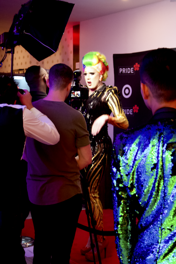 NYC Drag Queen, Step and Repeat