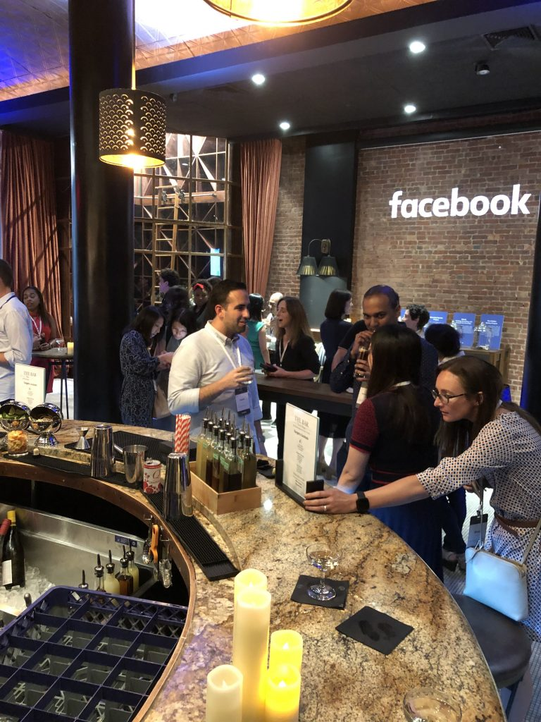 Facebook Marketing Event at Town